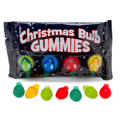 Christmas Bulb Gummies Candy (18 packets)