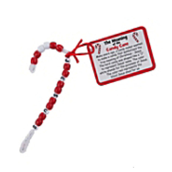 Meaning Of The Candy Cane Jesus Ornament Craft Kit  - Makes 12