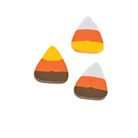 Mini Candy Corn Erasers 144 Pieces