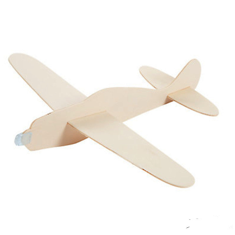 DIY Unfinished Wood Airplane Kits (12 Pack)