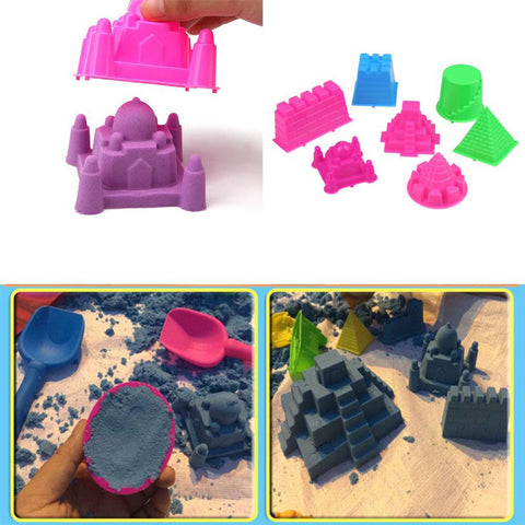 Portable Sandcastle Beach Sand Toy Castle Sand Mold For Children