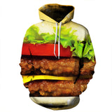 One Of A Kind Cheeseburger Hoodie So Cool