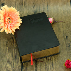 Leather Cover Bible Notebook Vintage