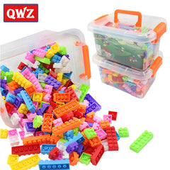 250 Building Blocks Set Educational Assembled Bricks