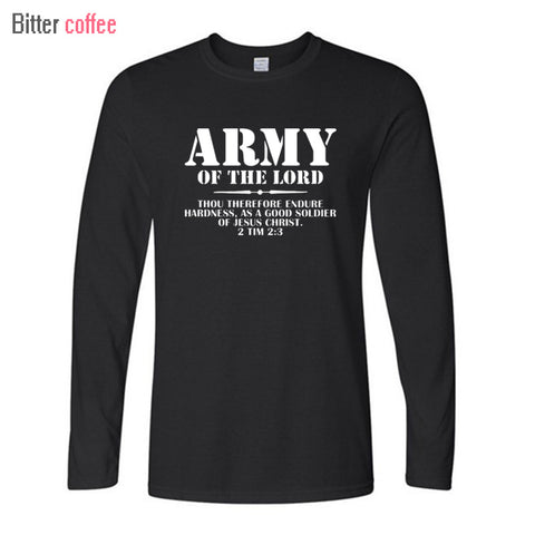 Long Sleeve Army Of The Lord Men's Shirt