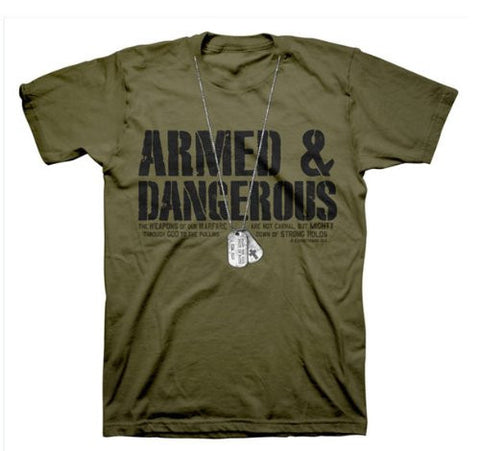 Armed And Dangerous T-shirt For Men