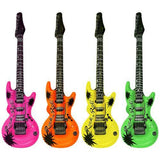 "Colorful 20"" Party Favors Inflatable Guitars Rock Roll (Color Randomly)"