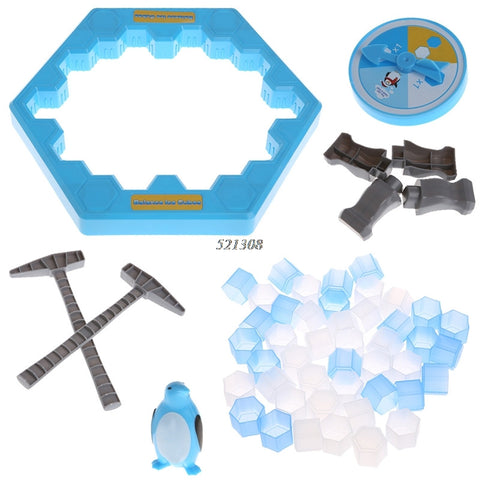 Ice Breaking Save The Penguin Trap Board Game