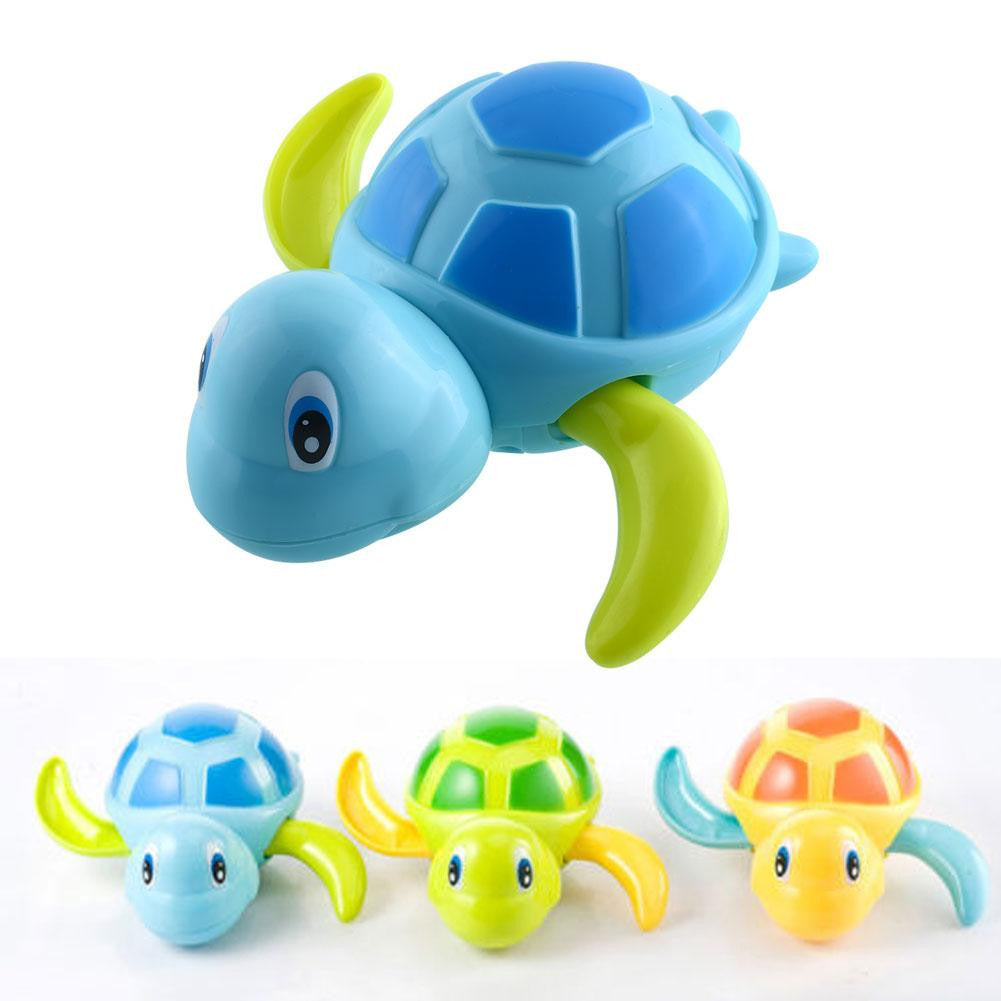 Swimming Animal Turtle Pool Toys Baby Children Kids Toddler Bath Time Creative