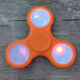 3 LED Light Luminous Fidget Spinner Toys