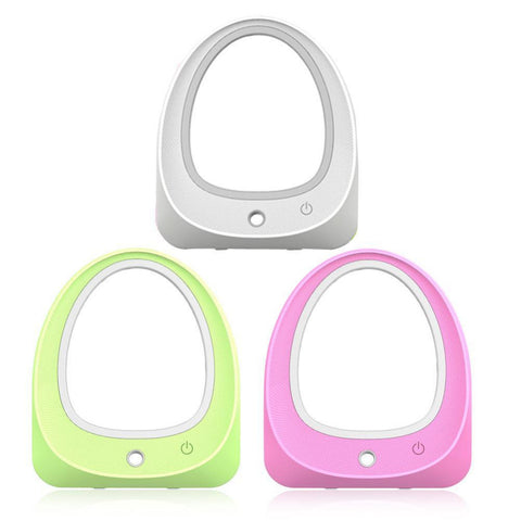 LED Light Makeup Mirror Nano Mist Sprayer Facial Humidifier