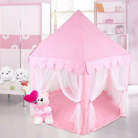 Portable Princess Castle Play Tent Activity Fairy House