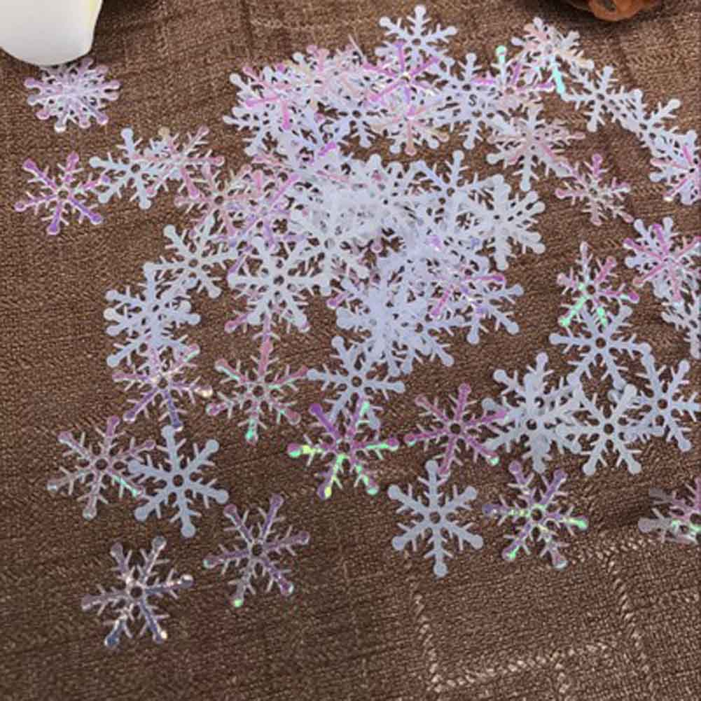 500 piece Snowflakes Christmas Ornaments