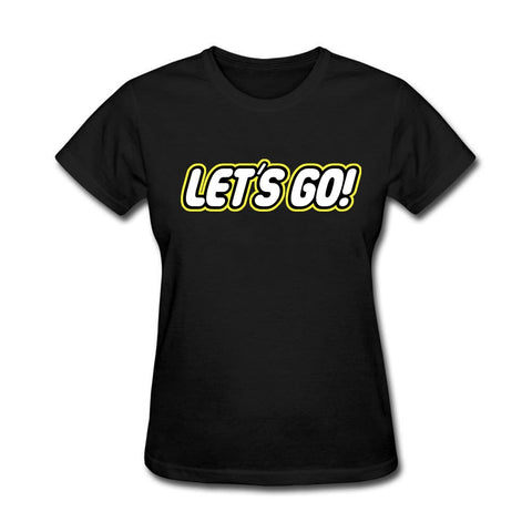 Women's Christian Let's Go t shirt