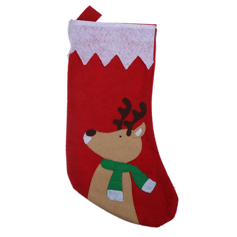 Christmas Stockings Socks Candy Gift Bag Xmas Tree Decoration