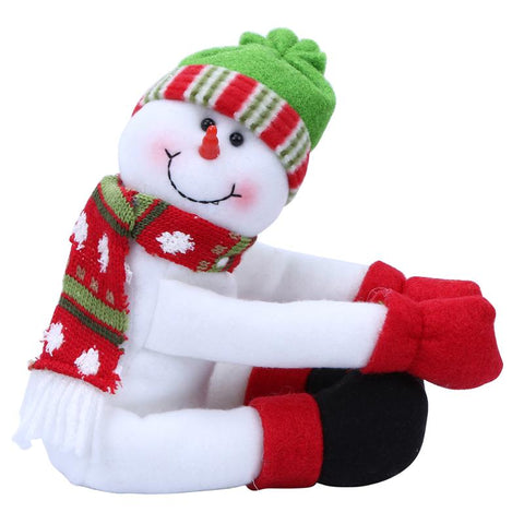 Snowman Christmas Decoration Gift Holiday Bottle Cover