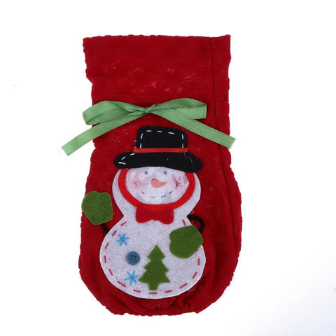 Christmas Snowman Gift Bag Candy Bag  Home Decoration Supplies