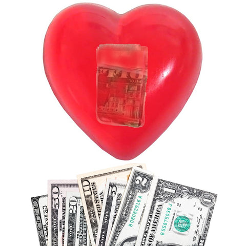 Happy Valentine's Day Money Love Soap