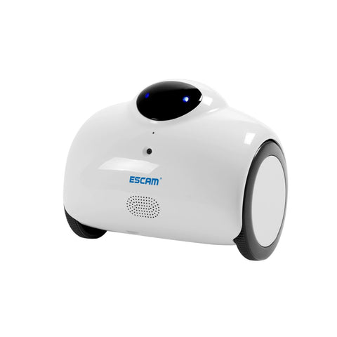 Used ESCAM Robot Camera Smart WIFI IP 2-WAY Audio