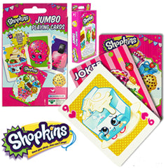 Jumbo Shopkins Playing Cards