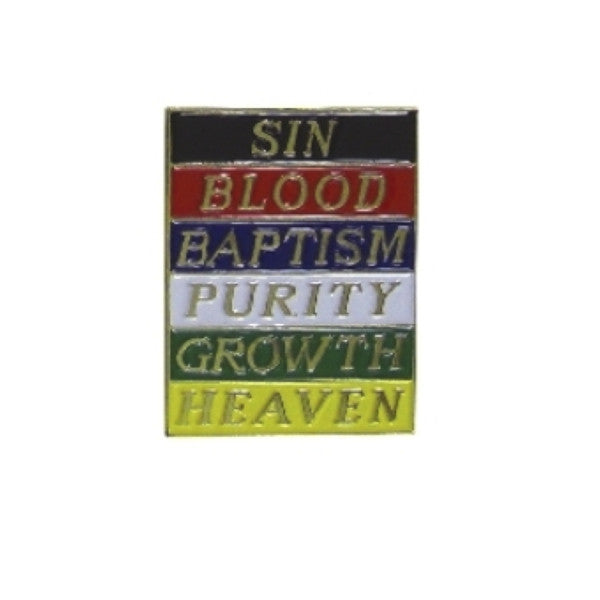 Plan Of Salvation Lapel Pins (Set of 12)