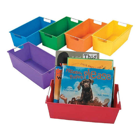 Picture Book Library Storage For Classroom Organization (Set of 6)