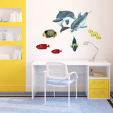 Bigeye Sea Life Animal Wall Decal Sticker