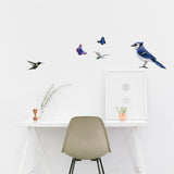 Blue Jay Bird Animal Wall Decal Sticker