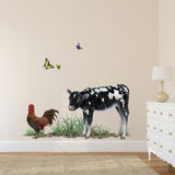 Calf Farm Animal Wall Decal Sticker