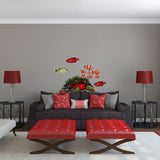 Clownfish Coral Reef Sea Life Wall Decal Sticker