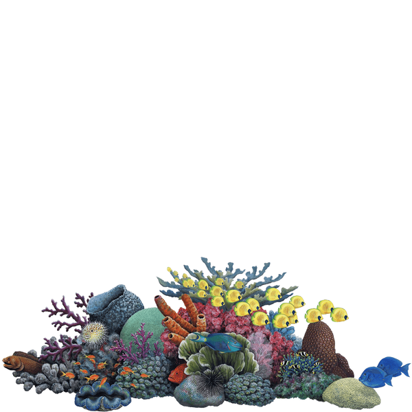 Coral Giant Sea Life Wall Decal Sticker