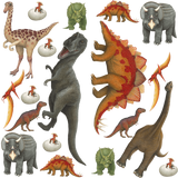 Dinosaur Collection Economy Size Wall Decals Stickers Combo