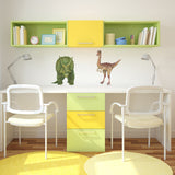 Gallimimus Dinosaur Wall Decal Sticker