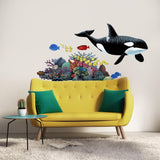 Orca Sea Life Wall Decal Sticker