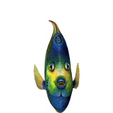 Queen Angelfish Front View Sea Life Wall Decal Sticker