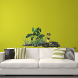 Rock Leaf Plant Wall Decal Sticker