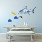 Shark Sea Life Wall Sticker Decal