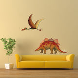 Stegosaurus Dinosaur Wall Decal Sticker