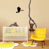 Toucan Jungle Animal Wall Decal Sticker