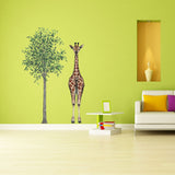 Tree Plant Wall Decal Sticker