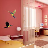 Tropical Birds Combo Pack Wall Decals Stickers