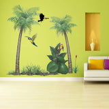Tropical Rainforest Collection Wall Decals Stickers