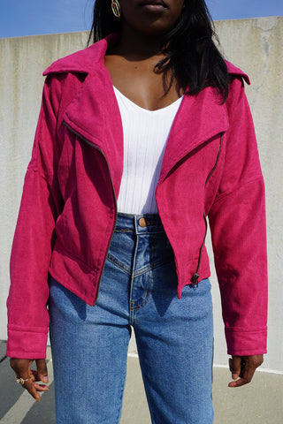 Cropped Moto Jacket - FINAL SALEClothes, OuterwearGreige - Greige
