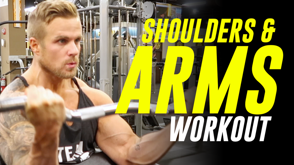 ARMS & SHOULDER WORKOUT