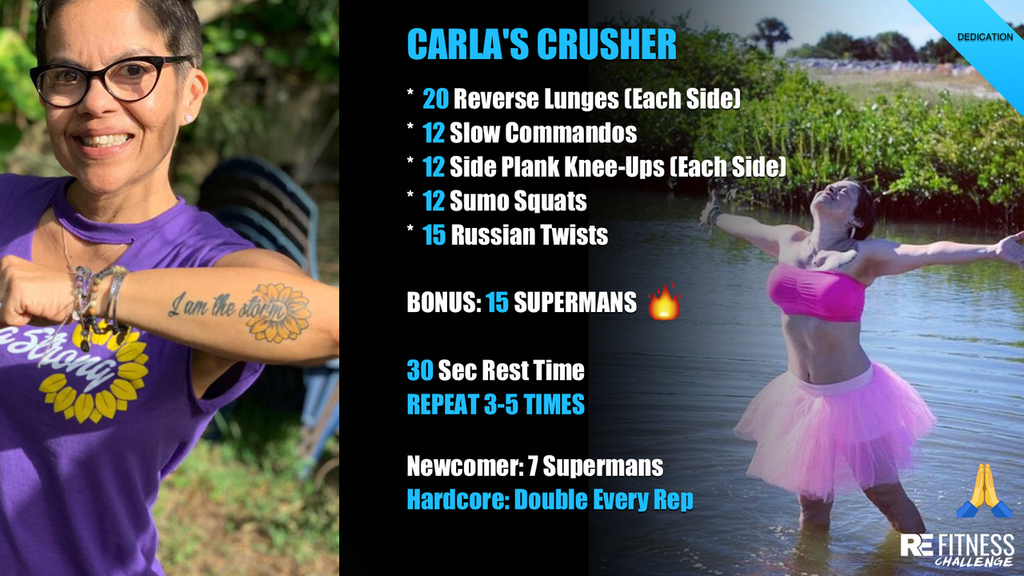CARLA'S CRUSHER HIIT WORKOUT