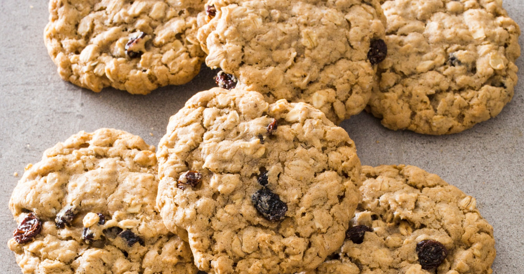 SEVEN MINUTE OATMEAL COOKIES