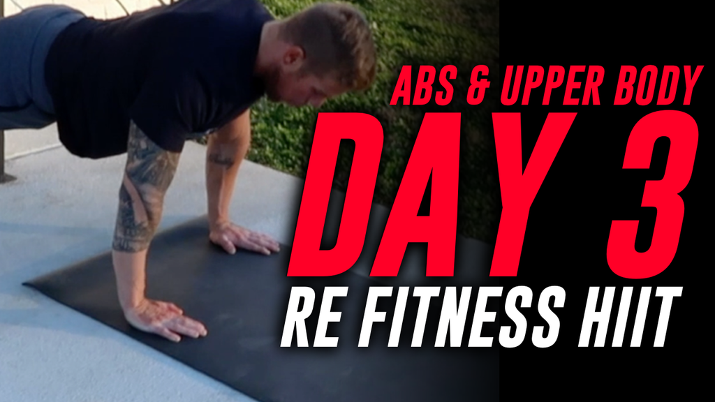 ABS & UPPER BODY | DAY 3