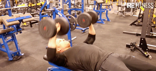 HOW TO FLAT DUMBBELL BENCH PRESS