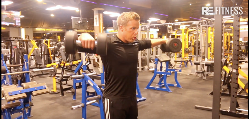 HOW TO DO DUMBBELL LATERAL RAISE OR FLY