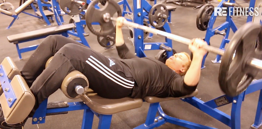 HOW TO DO DECLINE BENCH PRESS